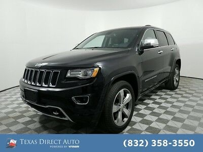 2014 Jeep Grand Cherokee Overland Texas Direct Auto 2014 Overland Used 3.6L V6 24V Automatic 4WD SUV Moonroof