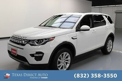 2017 Land Rover Discovery Sport HSE Texas Direct Auto 2017 HSE Used Turbo 2L I4 16V Automatic 4WD SUV Premium
