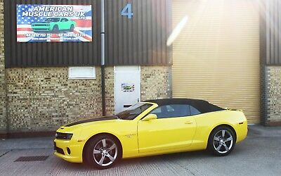 2011 Chevrolet 2SS Camaro Convertible 6.2L V8 in Bumble Bee Yellow