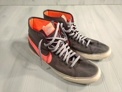 size 40 0af17 2acab NIKE PRIMO COURT MID CANVAS Womens Size 12 Shoes 631636-066
