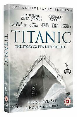 Titanic  100th Anniversary Edition       DVD        Brand new and sealed