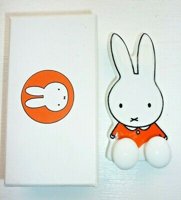Brand New Miffy Ceramic Wall Hook Boxed