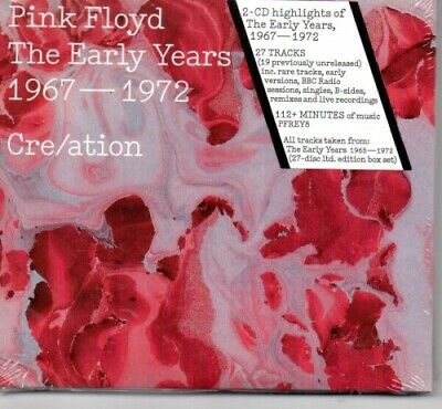 Pink Floyd - The Early Years 1967 – 1972 Cre/ation - 2 CD - Neu / OVP