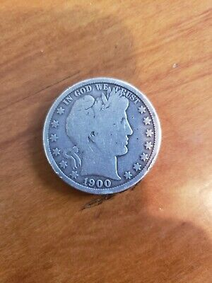 1900-S Barber Half Dollar - Scarce!!  Better Date!!  #e3712