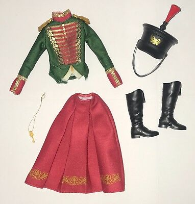 Barbie Nutcracker Four Realms Clara Soldier Uniform Petite Outfit Doll Shoes NEW