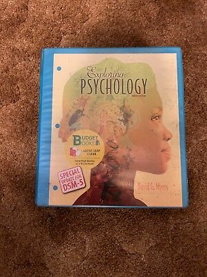 Exploring Psychology by David G. Myers and C. Nathan DeWall (2014, Paperback,...