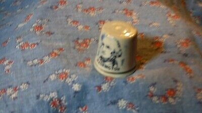 Colector Thimble  Bicentennial 1776 - 1976 George Washington  pottery