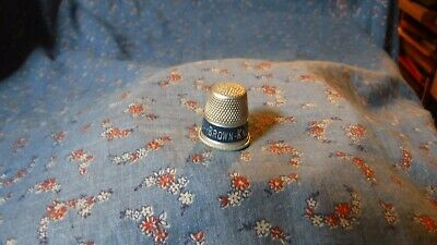 Colector Thimble  Brown Knopp Insurance Agency  Metal