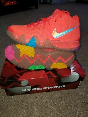 2277148a9ac6 NIKE KYRIE IRVING 4 IV Lucky Charms Bright Crimson Red GS BV7793 600 ...
