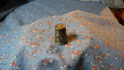 Colector Thimble  Owl  With Design  Metal
