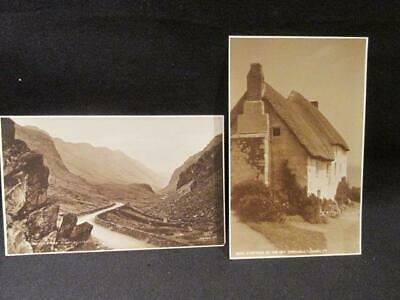 Cornwall Cottage By the Sea & LLamberts Pass N Wales 2 Judges Ltd Postcards