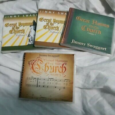 JIMMY SWAGGART GREAT Hymns Of The Church Music CD Set Vol 1, 2, 3 And 5