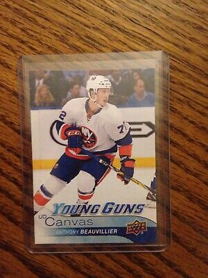 2016-17 Upper Deck Series 1 Young Guns Canvas RC  Anthony Beauvillier  Islanders