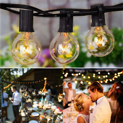 Retro String Light Bulb Outdoor 25 Lights LED Party Home Decor Festoon G40