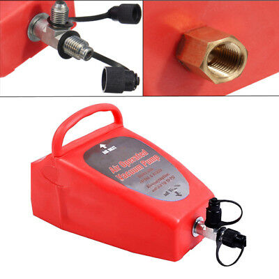 A/C Air Conditioning System Tool Auto Pneumatic 4.2CFM Air Operated Vacuum Pumps