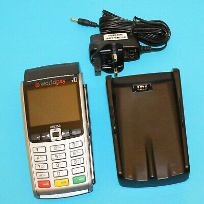 INGENICO IWL250 World Pay Credit Card Payment Machine w/ Charger IWL258-01T2976A