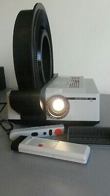 Reflecta Diamator AF IR 150W Slide Projector with Slide Rotary 'Carousel'