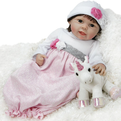 43d03b056828 Paradise Galleries Silicone Vinyl Reborn Baby Doll That Looks Real Emma -  21.