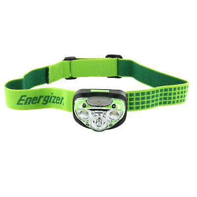 Energizer Vision  Head Torch Headlight 3 AAA batteries 315lm very bright