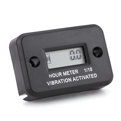 Qiilu Digital Vibration Hour Meter Gauge Wireless for Vibrating Machine...