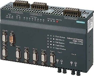 Siemens Industrial Ethernet switch 6GK1105-2AA10 and good