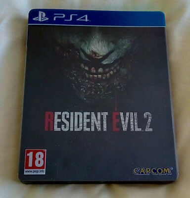 Resident Evil 2 Remake Steelbook Edition for Sony Playstation 4 (PS4)
