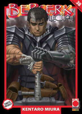Berserk Collection N° 38 - Ristampa - Planet Manga - ITALIANO NUOVO #NSF3