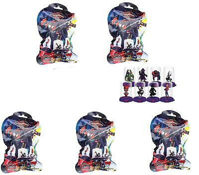 Marvel Spider-Man Spiderverse Domez Collectible Minis - Lot of 5