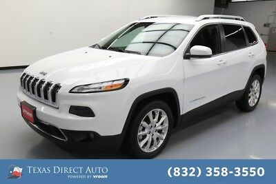 2015 Jeep Cherokee Limited Texas Direct Auto 2015 Limited Used 3.2L V6 24V Automatic FWD SUV