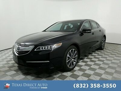 2015 Acura TLX V6 Tech Texas Direct Auto 2015 V6 Tech Used 3.5L V6 24V Automatic FWD Sedan Premium