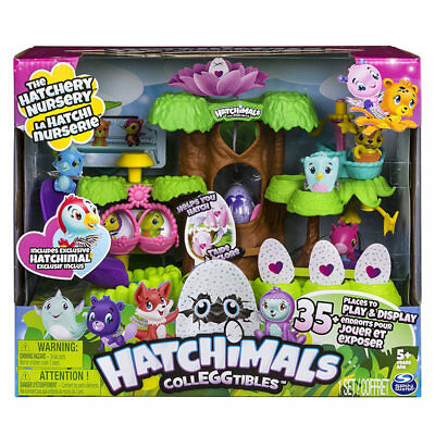 Hatchimals Colleggtibles 'The Hatchery Nursery' - Spinmaster 6037073 DAMAGED A*