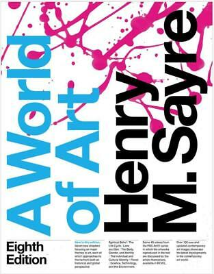 A World of Art (8th Ed) by Henry M. Sayre - Instant Email Delivered MOBI,PDF,