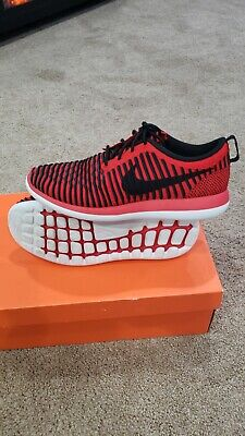 0dc9c3e7cc37f New Kids Authentic NIKE Roshe 2 Flyknit (GS) 844619-600 size 7y