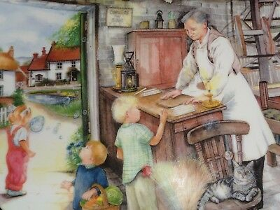 Royal Doulton Collectors Plate THE CANDLE MAKER - OLD COUNTRY CRAFTS