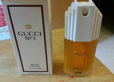 652a73a66c8 GUCCI NO3 ~ MINI   MINIATURE PERFUME PARFUM 3ml   POUCH NEW - £10.99 ...
