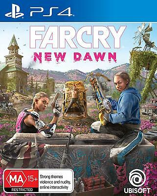 Far Cry New Dawn PS4 Playstation 4 Brand New Sealed