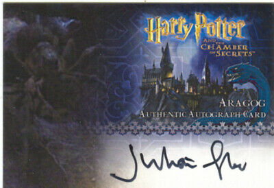 Harry Potter And The Chamber Of Secrets Autograph Julian Glover