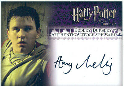 Harry Potter And The Order Of The Phoenix Update Autograph Harry Melling