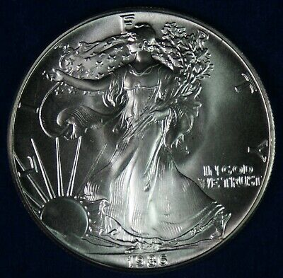 1986 $1 American Silver Eagle Coin **First Year Type**