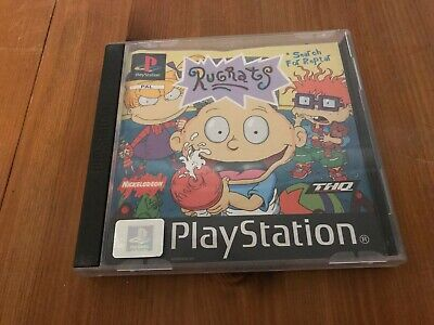 Sony PS1 Video Game * Rugrats Search For Reptar * Complete
