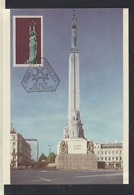 LATVIA 1991 postcard Very Fine