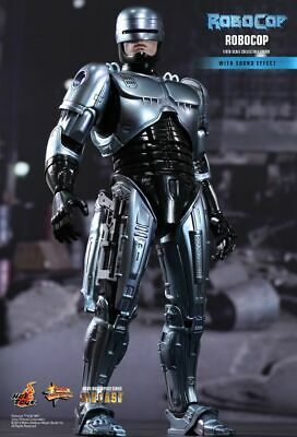 Hot Toys 1/6 Robocop MMS202D04 With Sound Effect Alex Murphy Diecast Figure