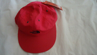 677d1ce5dff THE NORTH FACE Throwback Tech Hat Cap Nwt Osfa Raspberry 6 Panel ...