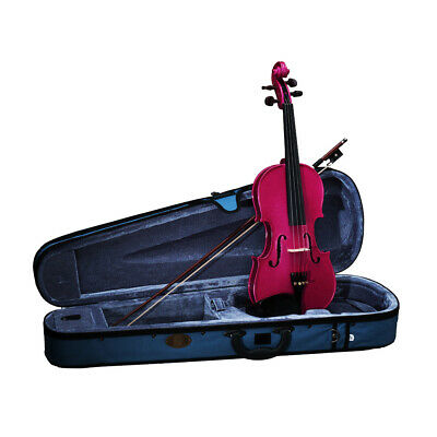 Stentor 1/2 Size Violin RASPBERRY Finish with Case, Bow & Rosin STANDARD SET UP
