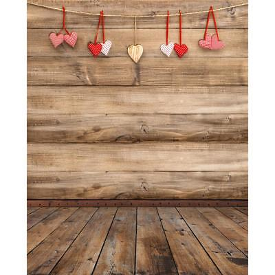 Romantic Valentines Day Photography Backdrop Background Cloth Studio Photo Props