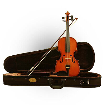 Stentor Standard 4/4 Full Size Violin with Case, Bow & Rosin Professional Setup