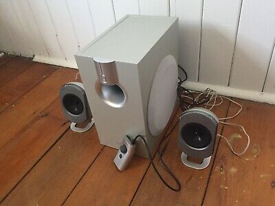 Stereo Speakers, Great Bass!