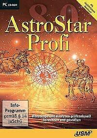 AstroStar Profi 8.0 Die professionelle Astrologie-Software CD-ROM Deutsch 2018