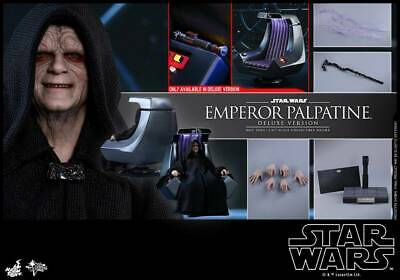 Hot Toys 1/6 Star Wars Return of The Jedi MMS468 Emperor Palpatine Deluxe Set