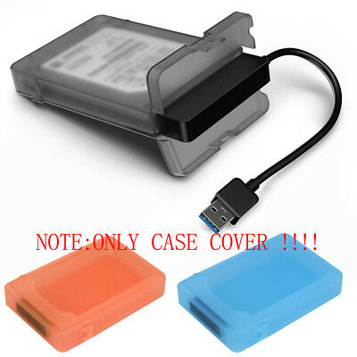 For 2.5inch HDD SSD Tool-Free USB 3.0 SATA III Hard Disk Enclosures Case Cover